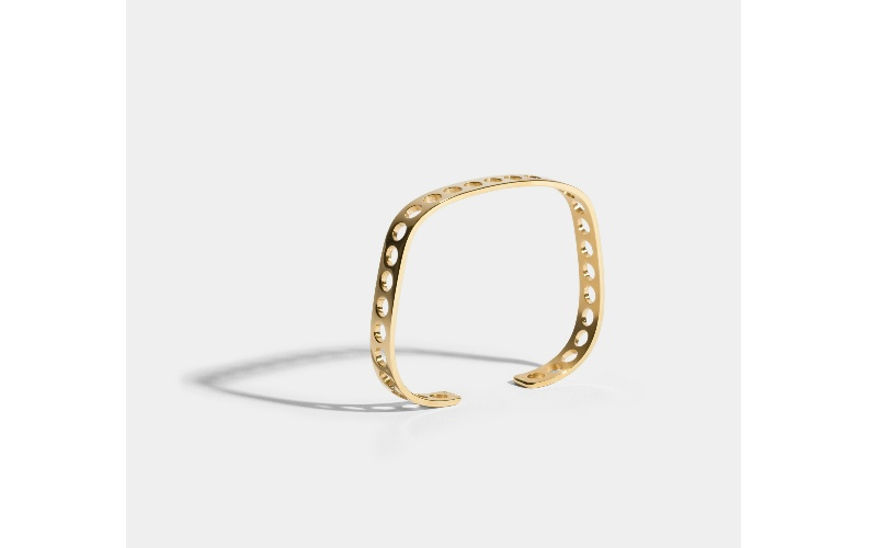 VOIDS BRACELET - JEM BY INDIA MAHDAVI - 18 CARAT FAIRMINED GOLD