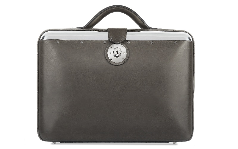 No. 25 Briefcase - Graphite
