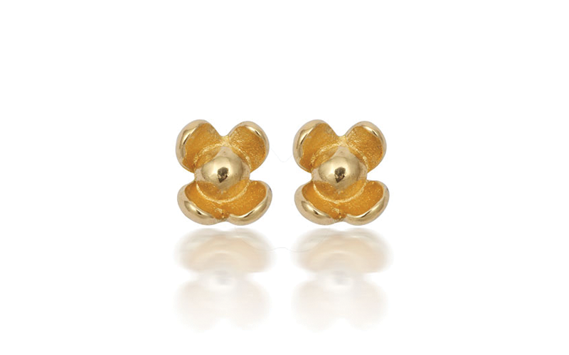 BIBBI FLOWER STUD EARRINGS
