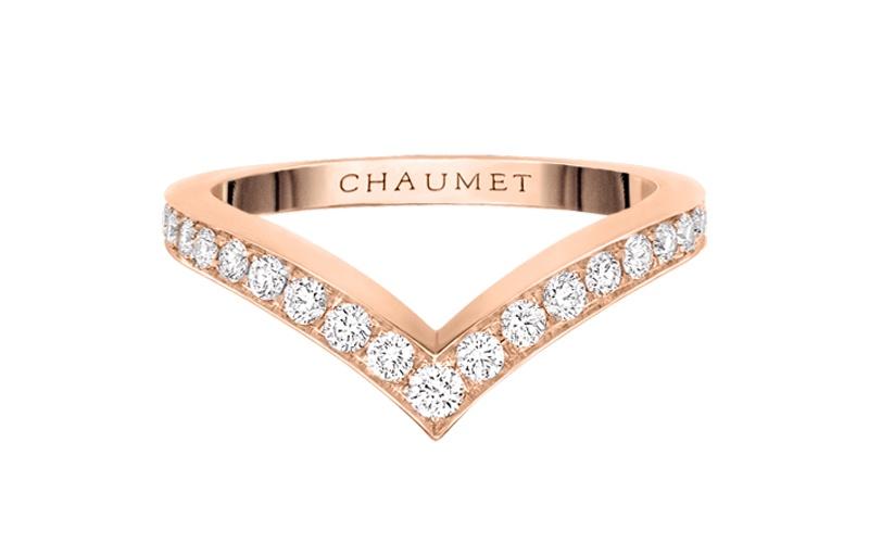 "Joséphine ""Aigrette"" Ring 18 KT Pink Gold"