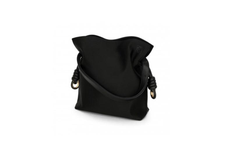 Flamenco Knot Small Bag Black