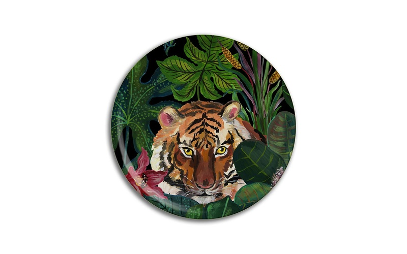 Tiger Birchwood Tray