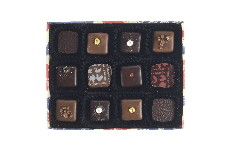 Union Jack Ganache Selection Box