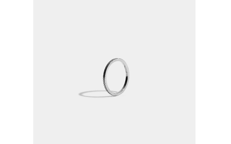 ANAGRAMME RING - 18 CARAT FAIRMINED GOLD