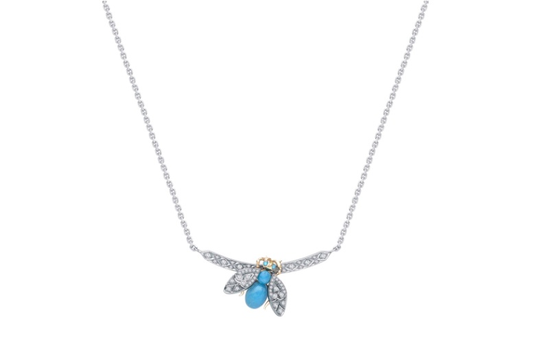 Enchanted Palace Jewelled Bug Pendant
