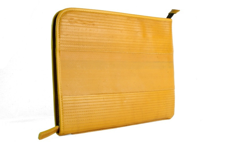 Yellow Folio Laptop Case