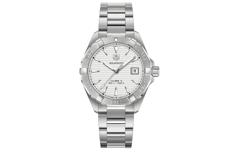 Aquaracer Calibre stainless steel watch