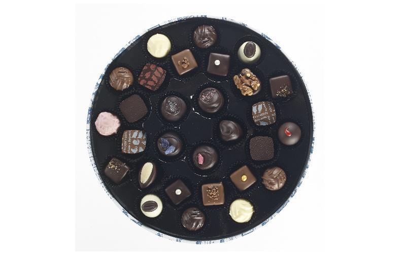 Rococo Round Box No.2 Mixed Chocolate Selection