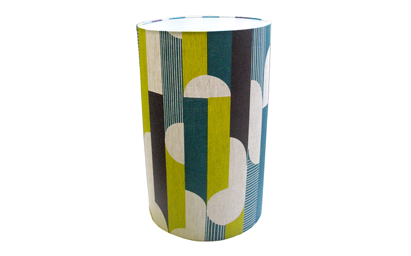 Curved Stripe Tall Lampshade