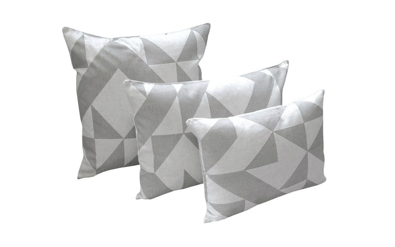 Grey Angle Cushion