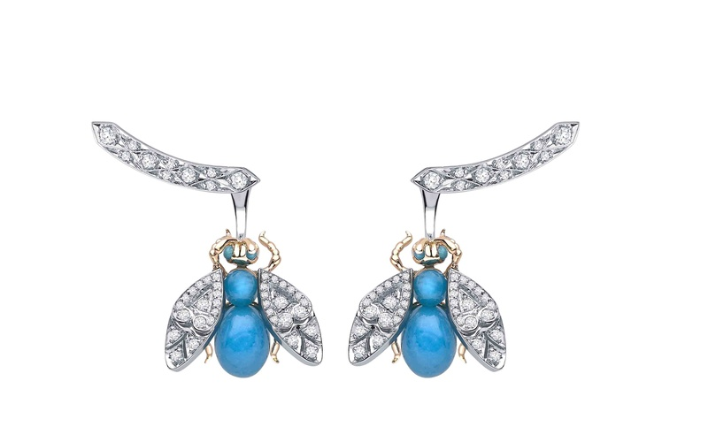 Enchanted Palace Jewelled Bug Earrings