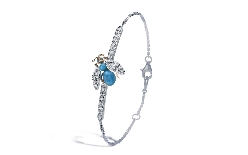 Enchanted Palace Jewelled Bug Bracelet