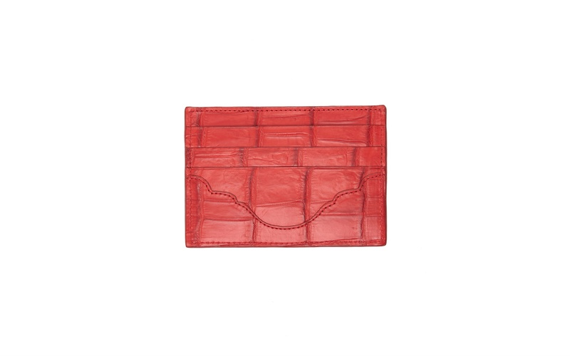 RED CARDHOLDER