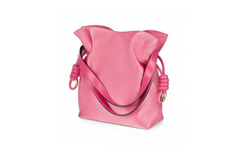 Flamenco Knot Small Bag Pink Candy