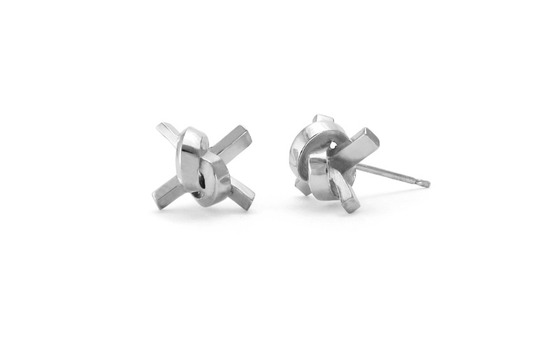 FORGET ME KNOT COLLECTION STUD EARRINGS