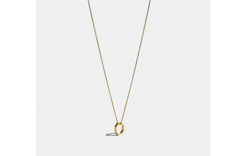 OCTOGONE NECKLACE - 18 CARAT FAIRMINED GOLD