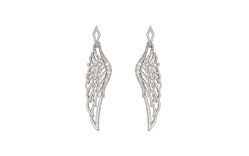 Wings Lace Earrings