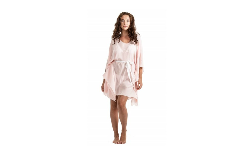 Silk Cover Up - Blush