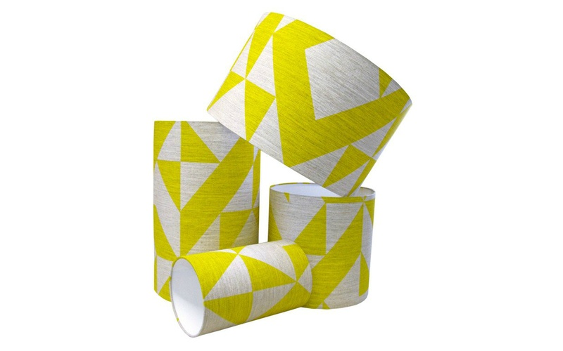 Yellow Angle Lampshade