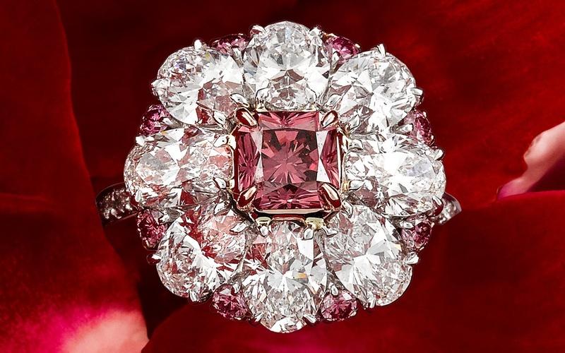 Mondial Pink Diamond Atelier – Ring, Charisse