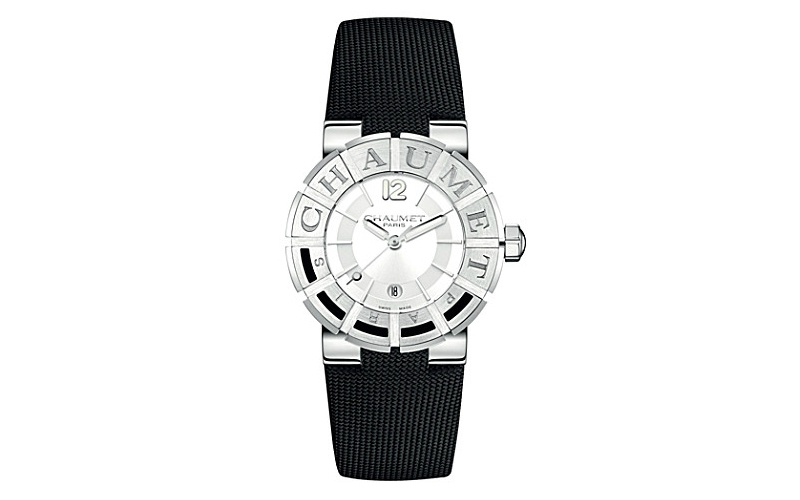 "Class One ""Chaumet Paris"" stainless steel technical fabric watc"