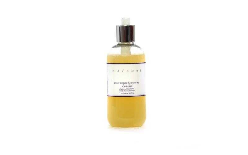 Sweet Orange and Rosemary Shampoo
