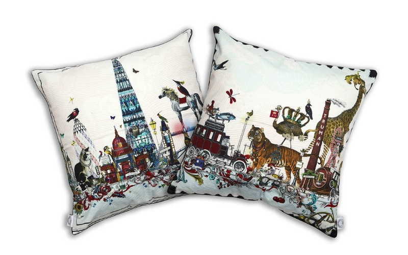 Shard Skyline Cushion cotton