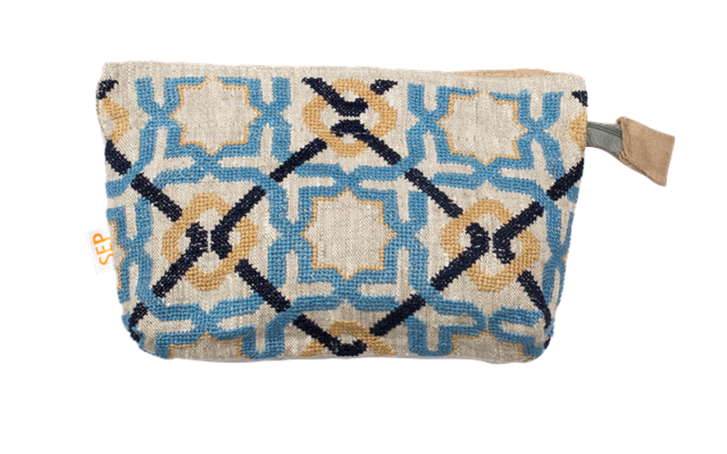 ALHAMBRA SEA ZIP CLUTCH