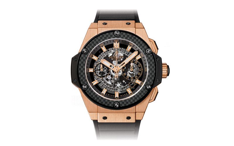 King Power Unico King Gold Carbon Watch