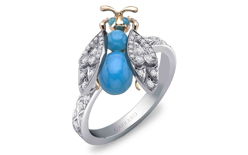 Enchanted Palace Jewelled Bug Ring