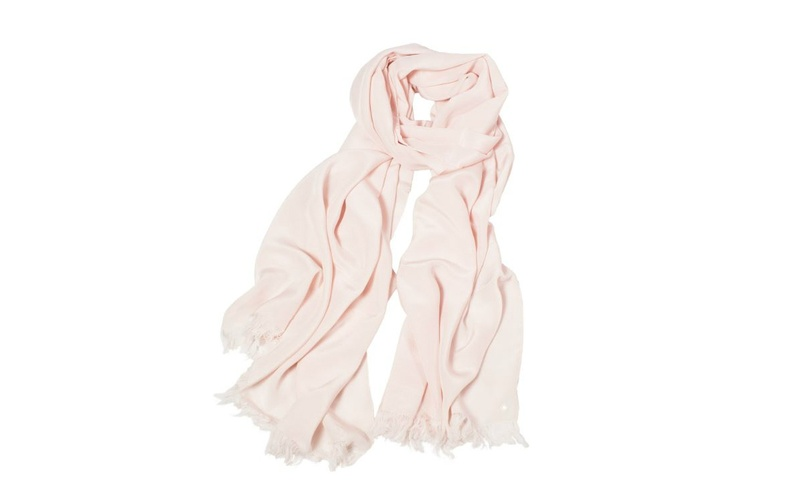 Silk Scarf - Blush