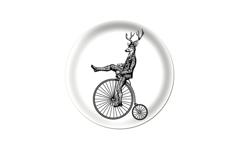 Penny Farthing Stag Tray