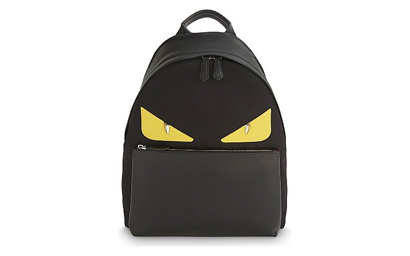 Monster leather backpack