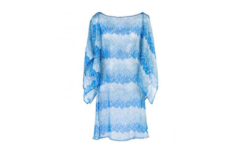 Butterfly Kaftan Blue Mermaid