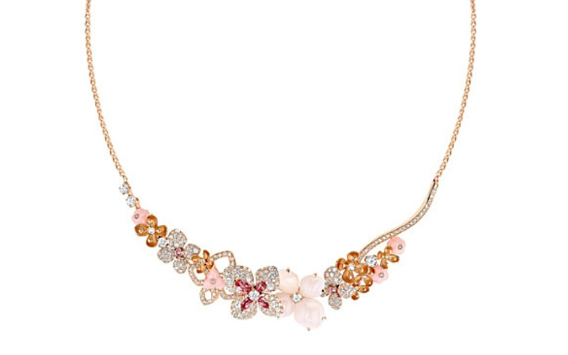 "Hortensia ""Aube Rosée"" Necklace"