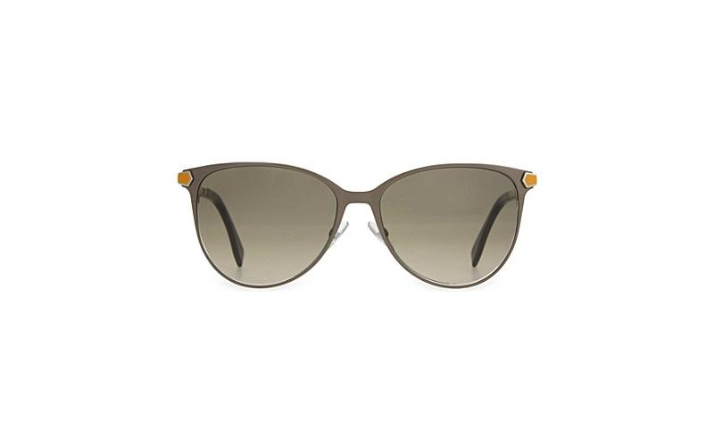 Round sunglasses kaki