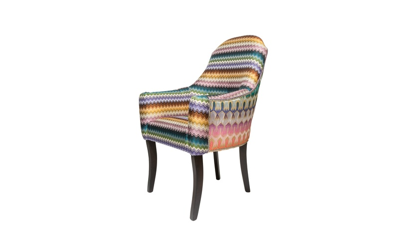 Horatio Carver Dining Chair - Missoni Fabric