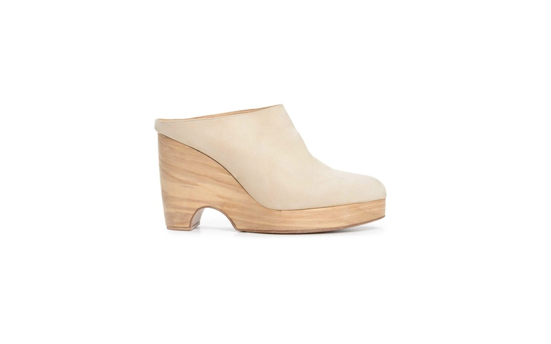 HOLLOWAY WOODEN WEDGE MULE