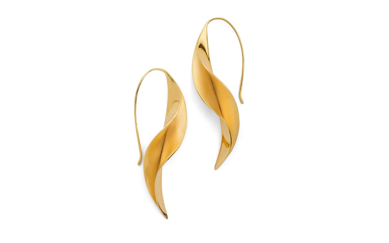 FOLIA COLLECTION WISTERIA VERMEIL EARRINGS