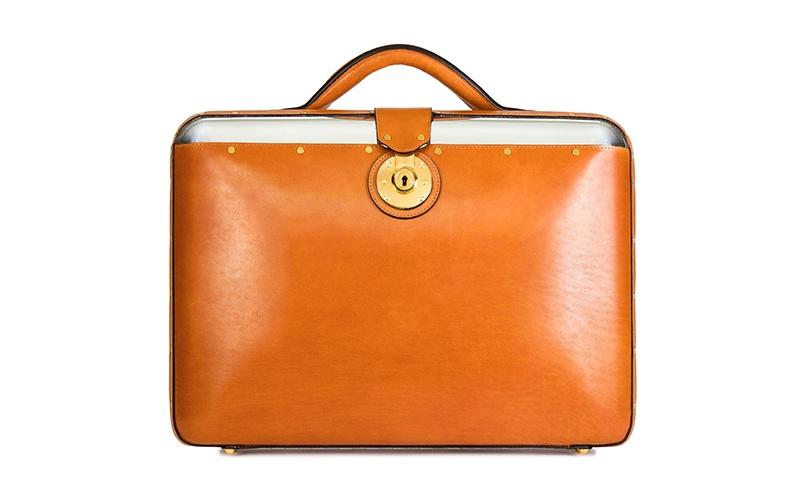 No. 25 Briefcase - Cedar
