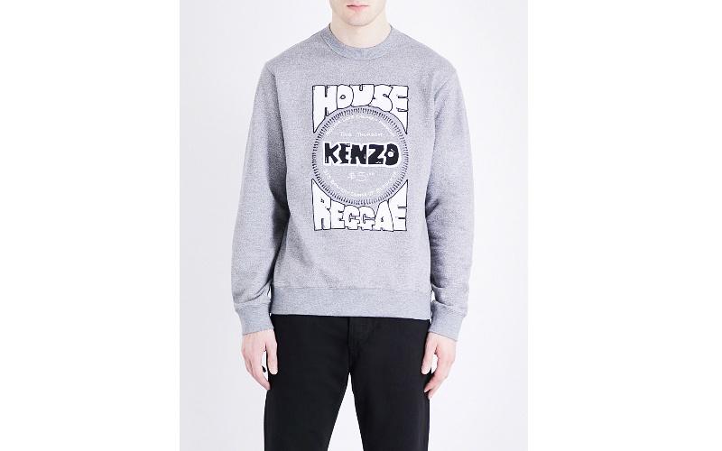 Kenzo reggae cotton-jersey sweatshirt