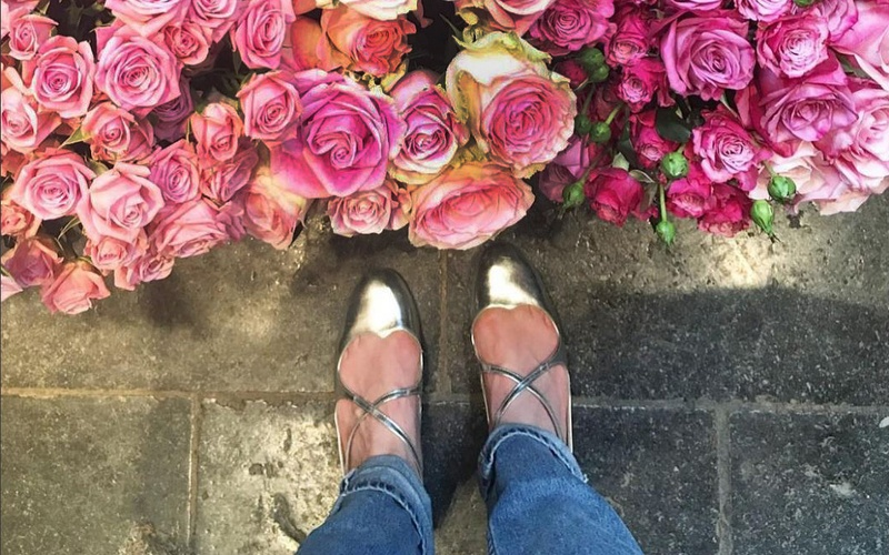 Monthly Must-Have:  Camilla Elphick Silver Lover Flats