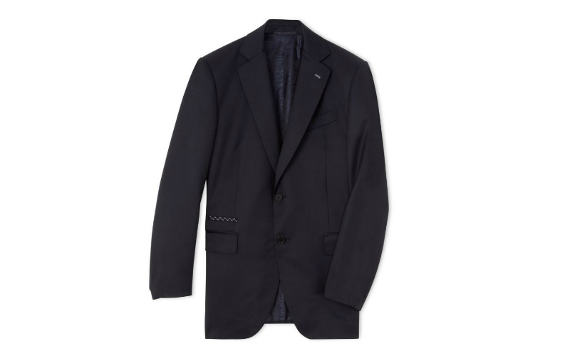 Structured Wool Blazer