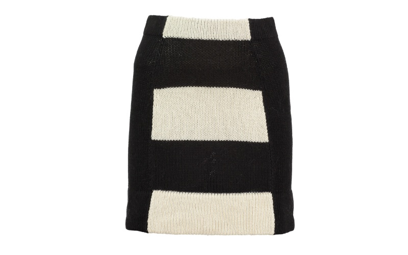 MONOCHROME MINI SKIRT