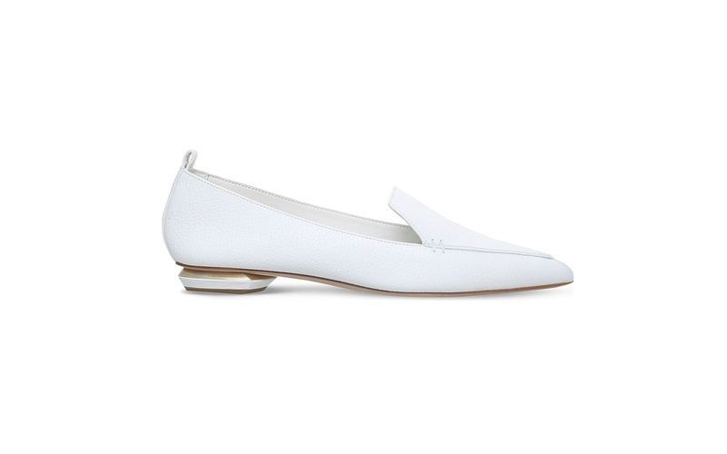 Beya White Loafer