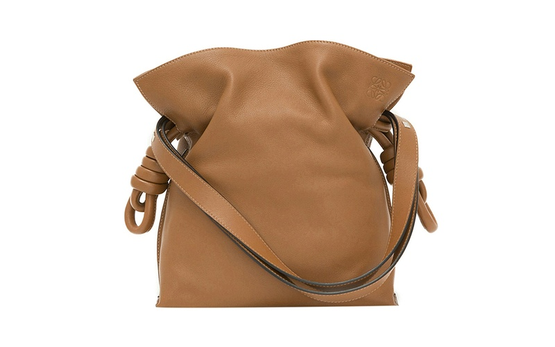 Flamenco Knot Bag Tan