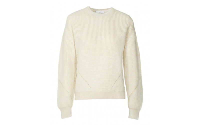 CHUNKY JUMPER WOOL CREAM