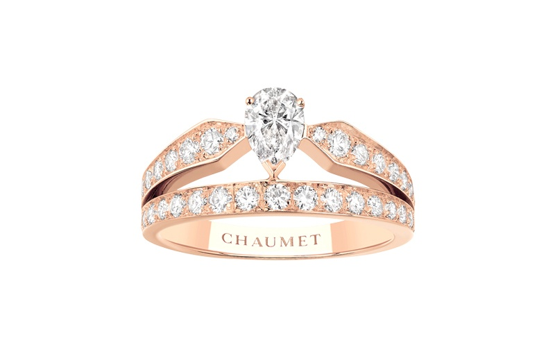 "Joséphine ""Aube Printanière"" Ring 18 KT Pink Gold"