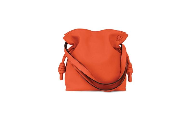 Flamenco Knot Small Bag Orange