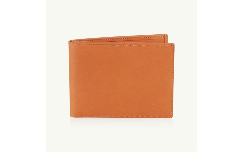 ORANGE BILLFOLD WALLET